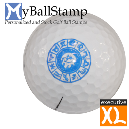 Myballstamp Personalized Golf Ball Stamps